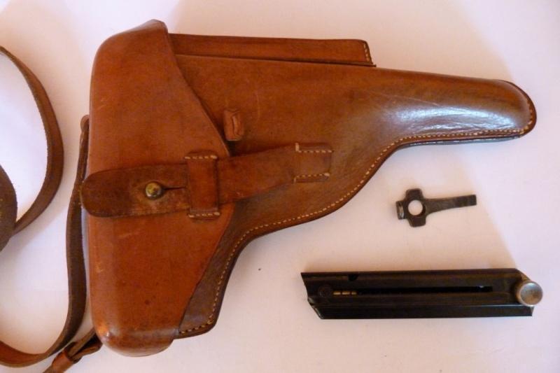 Les étuis et accessoires des Luger suisses de 1925 à 1949 00519