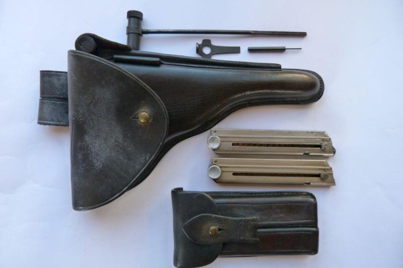 portugais - Les étuis et accessoires des pistolets Luger portugais, de 1906 à 1942. 00718