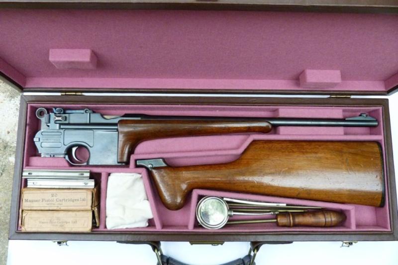 Carabine Mauser C 96, en 8ème catégorie. 00811