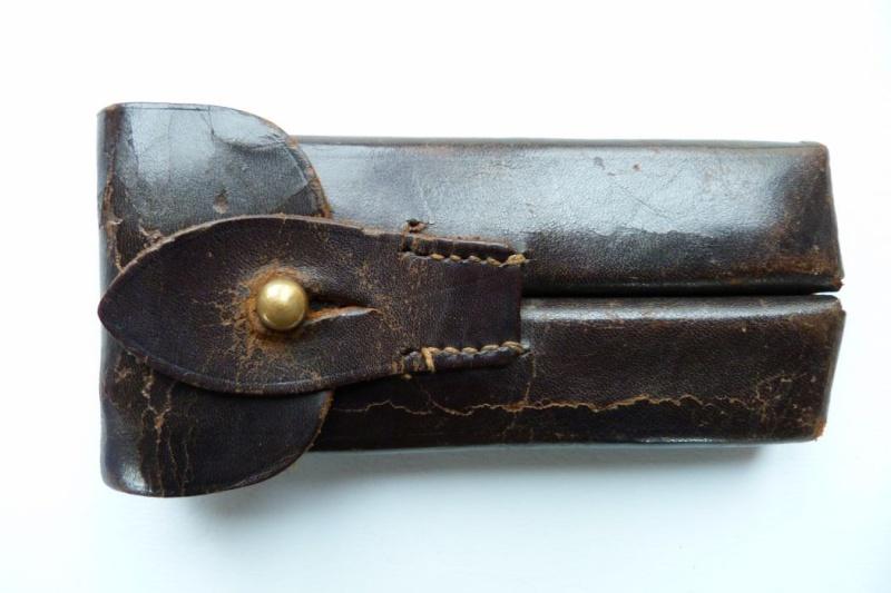 Les étuis et accessoires du Luger sous la république de Weimar. 00814