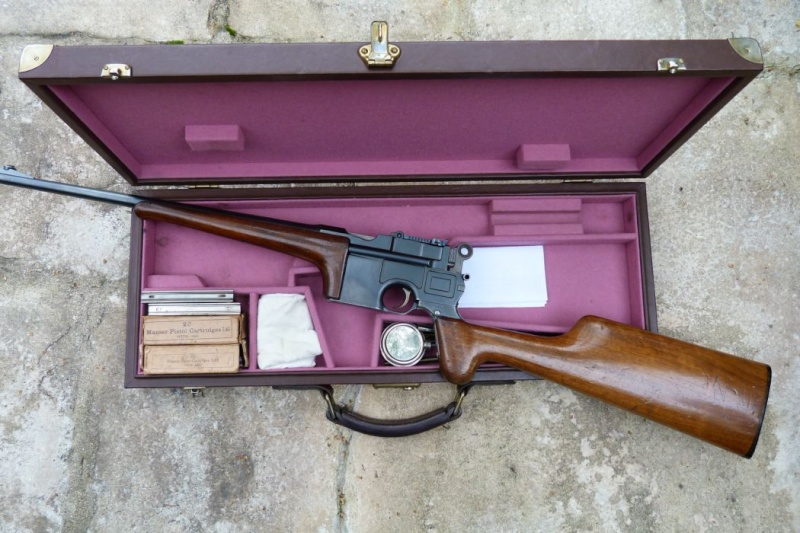 Carabine Mauser C 96, en 8ème catégorie. 00912