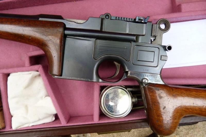 Carabine Mauser C 96, en 8ème catégorie. 01012