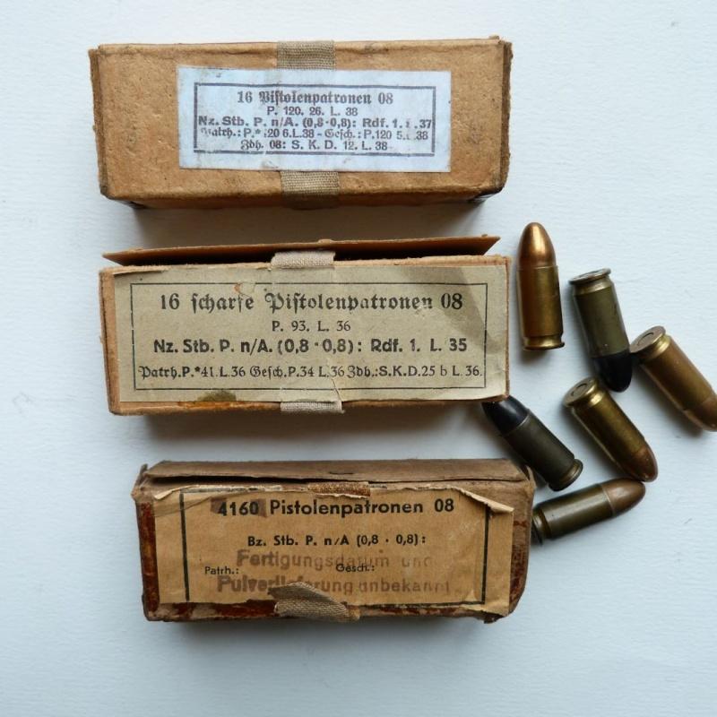 Les étuis et accessoires du Luger P 08, en Allemagne, de 1930 à 1945. 01015
