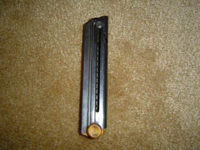 Luger Mauser Banner de la marine portugaise, en 9 mm, n° 4343 v. Charge11