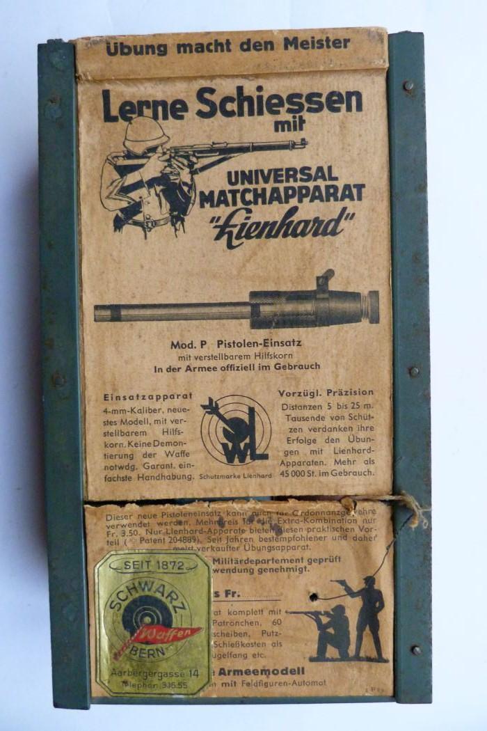 """Conversion suisse """"Lienhard"""" pour pistolet Parabellum. Conver10"""