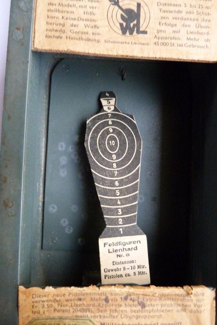 """Conversion suisse """"Lienhard"""" pour pistolet Parabellum. Conver13"""