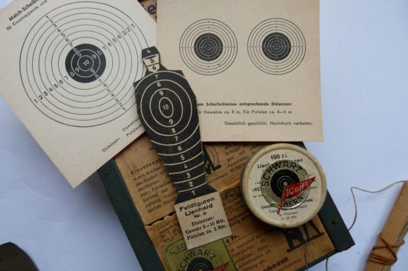 """Conversion suisse """"Lienhard"""" pour pistolet Parabellum. Conver14"""