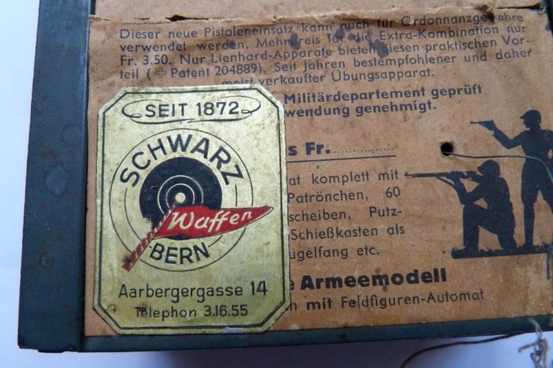"""Conversion suisse """"Lienhard"""" pour pistolet Parabellum. Conver17"""