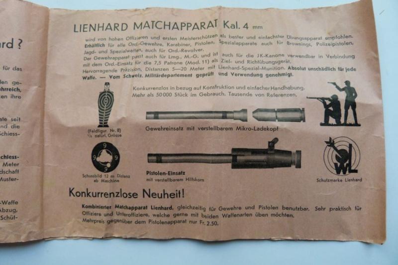 """Conversion suisse """"Lienhard"""" pour pistolet Parabellum. Conver22"""