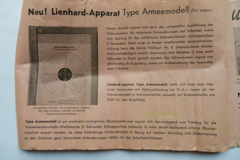 """Conversion suisse """"Lienhard"""" pour pistolet Parabellum. Conver23"""