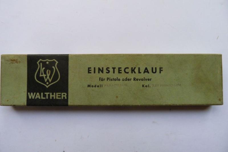Conversion allemande Walther en 4 mm M20 pour pistolet Luger en 7,65 parabellum. Conver27