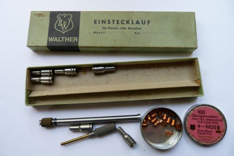 Conversion allemande Walther en 4 mm M20 pour pistolet Luger en 7,65 parabellum. Conver28