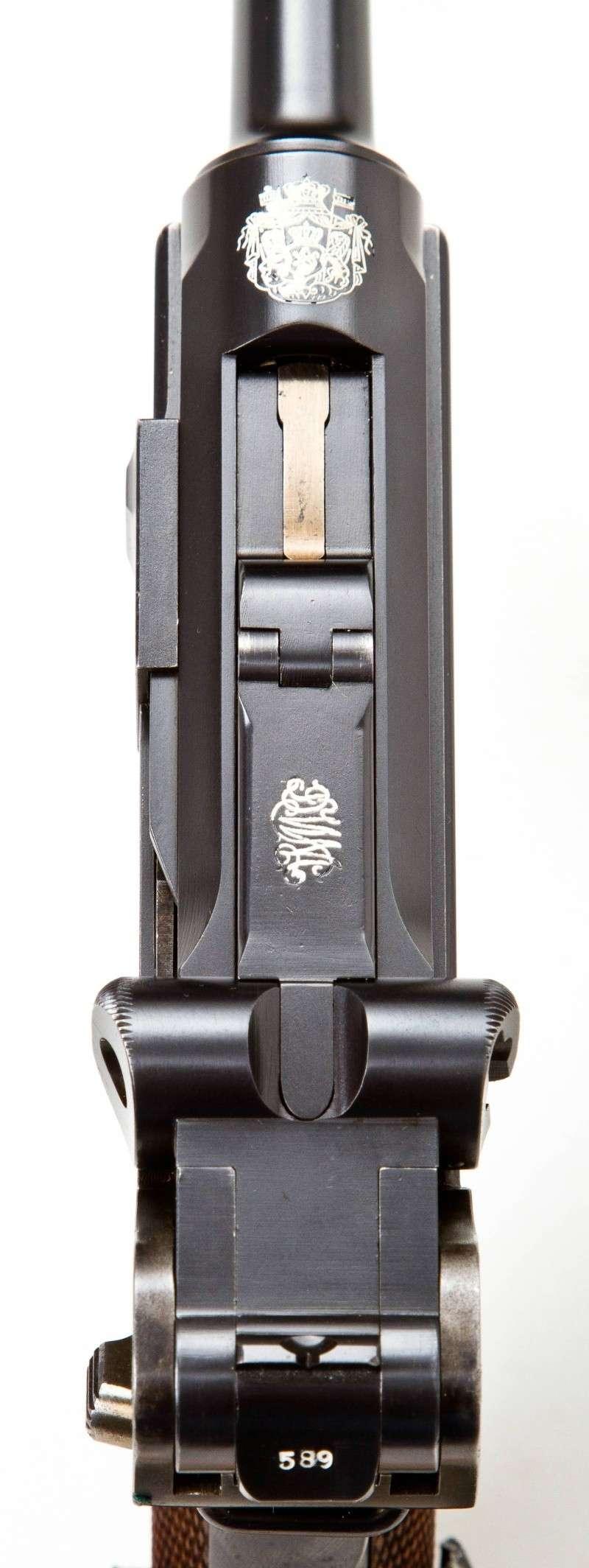 Les étuis et accessoires des Luger bulgares, de 1900 à 1943.  Dwm_1922
