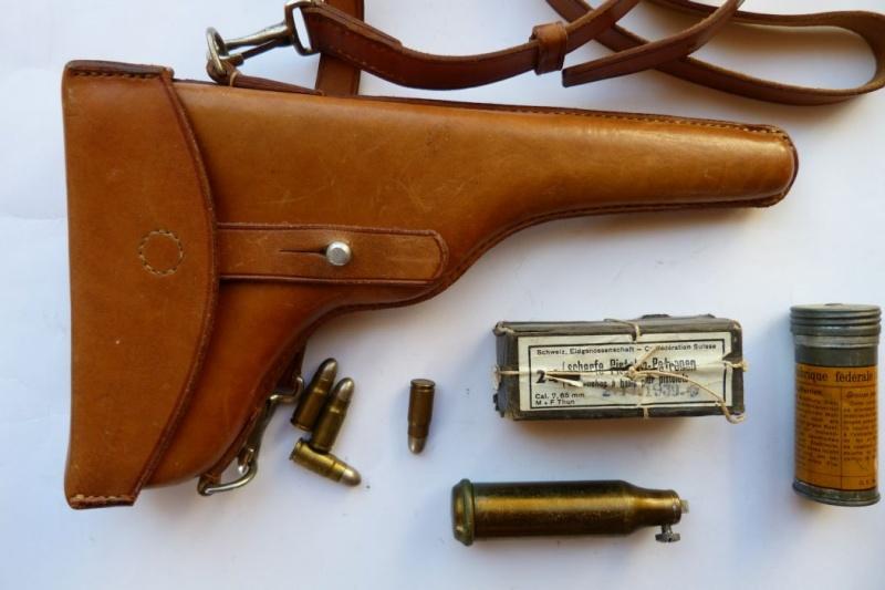 Les étuis et accessoires des Luger suisses de 1900 à 1925. Holste47