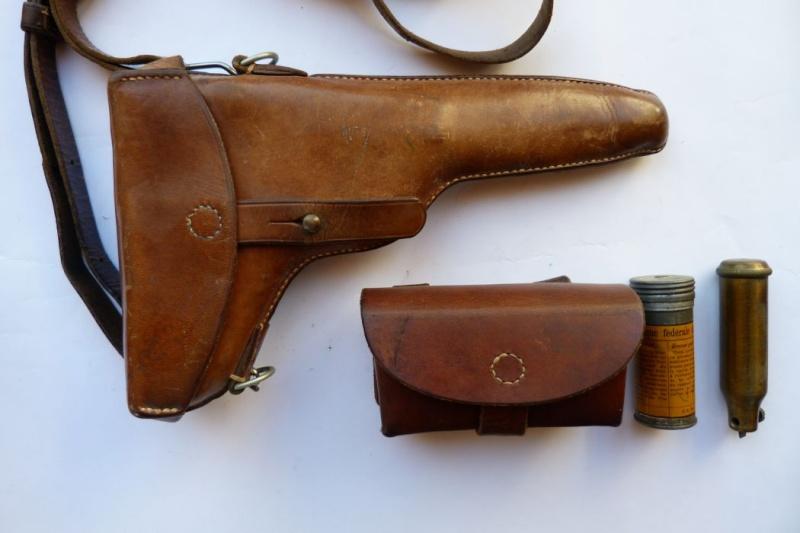 Les étuis et accessoires des Luger suisses de 1900 à 1925. Holste48