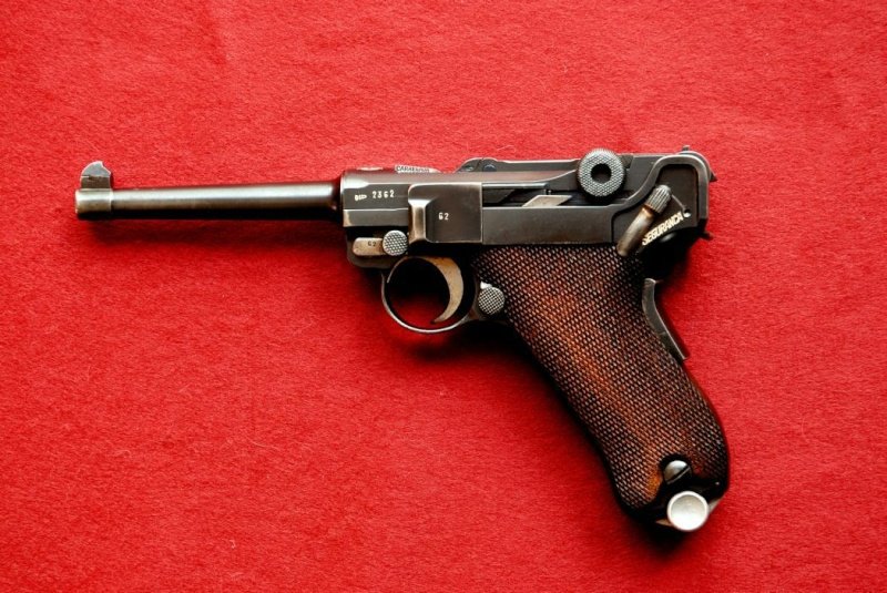 Luger family Mauser34