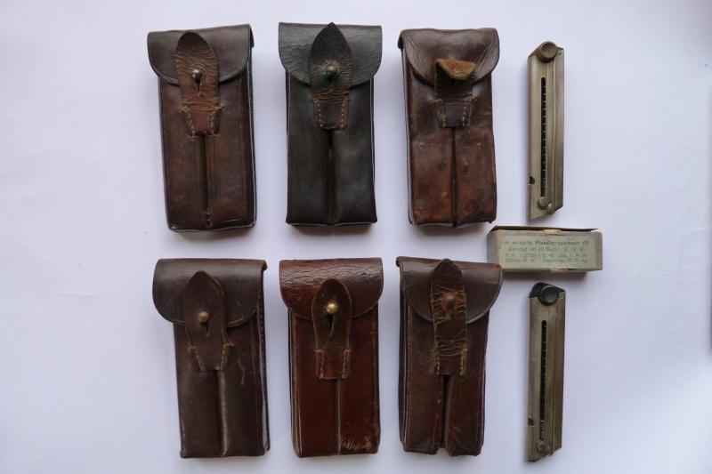 Les pochettes pour loger les chargeurs de rechange de Luger. Pouch_14