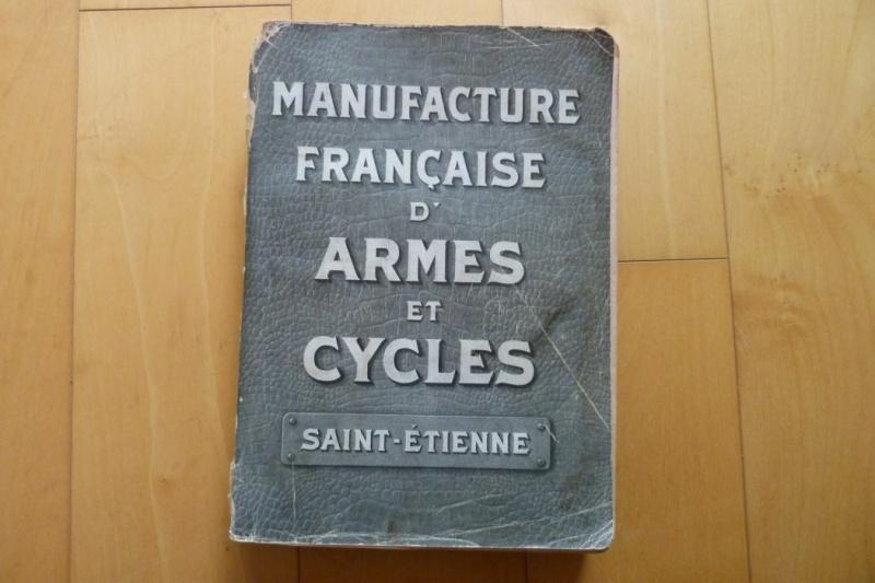Le Luger Parabellum du tarif album de la Manufacture Française d'Armes et Cycles de St Etienne, année 1911. Tarif_10
