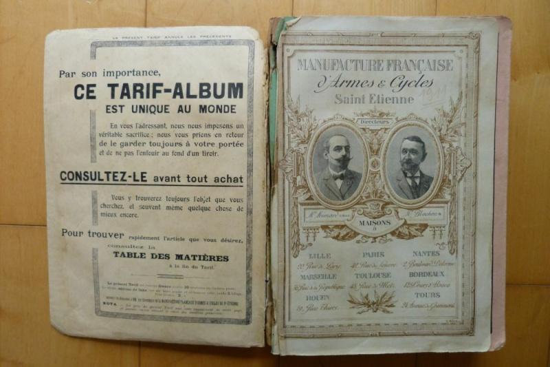 Le Luger Parabellum du tarif album de la Manufacture Française d'Armes et Cycles de St Etienne, année 1911. Tarif_11