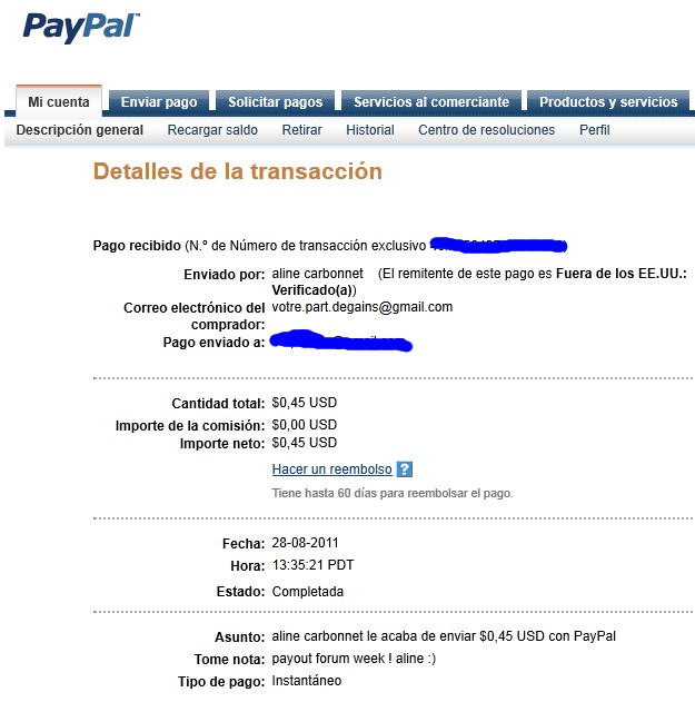 All my other proof of payment received. Aline_18