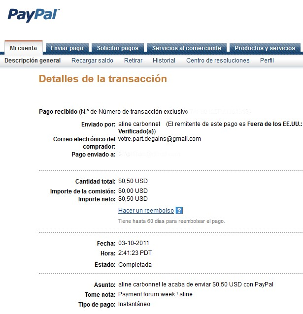 All my other proof of payment received. Aline_23