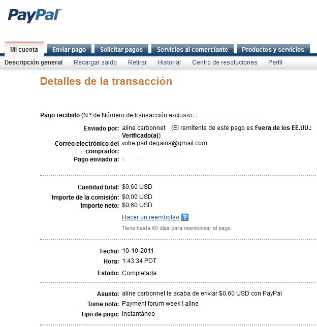 All my other proof of payment received. Aline_24