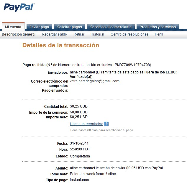 All my other proof of payment received. Aline_27