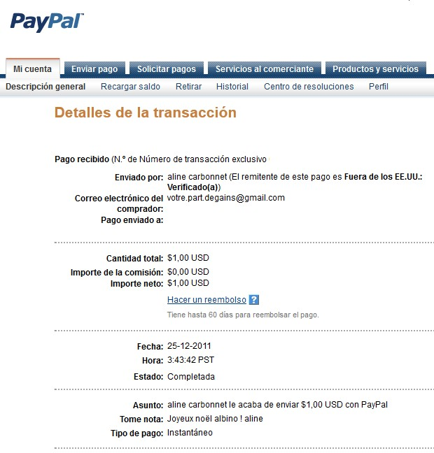 All my other proof of payment received. Aline_31
