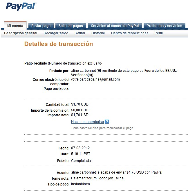 All my other proof of payment received. Aline_33