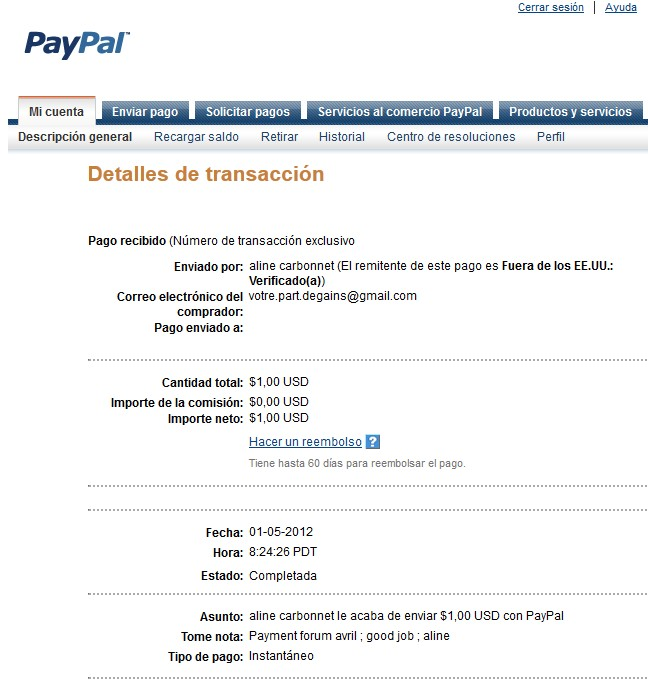 All my other proof of payment received. Aline_37