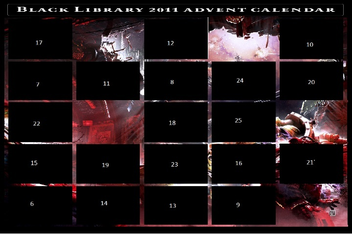 Black Library Advent Calendar 2011 - Page 3 Calend10