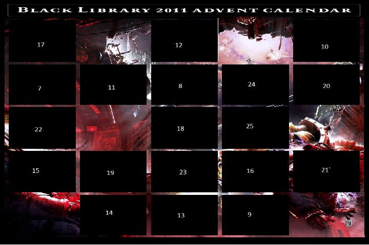 Black Library Advent Calendar 2011 - Page 3 Calend12