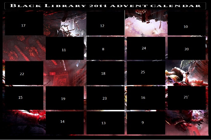 Black Library Advent Calendar 2011 - Page 4 Calend13