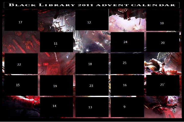 Black Library Advent Calendar 2011 - Page 4 Calend14