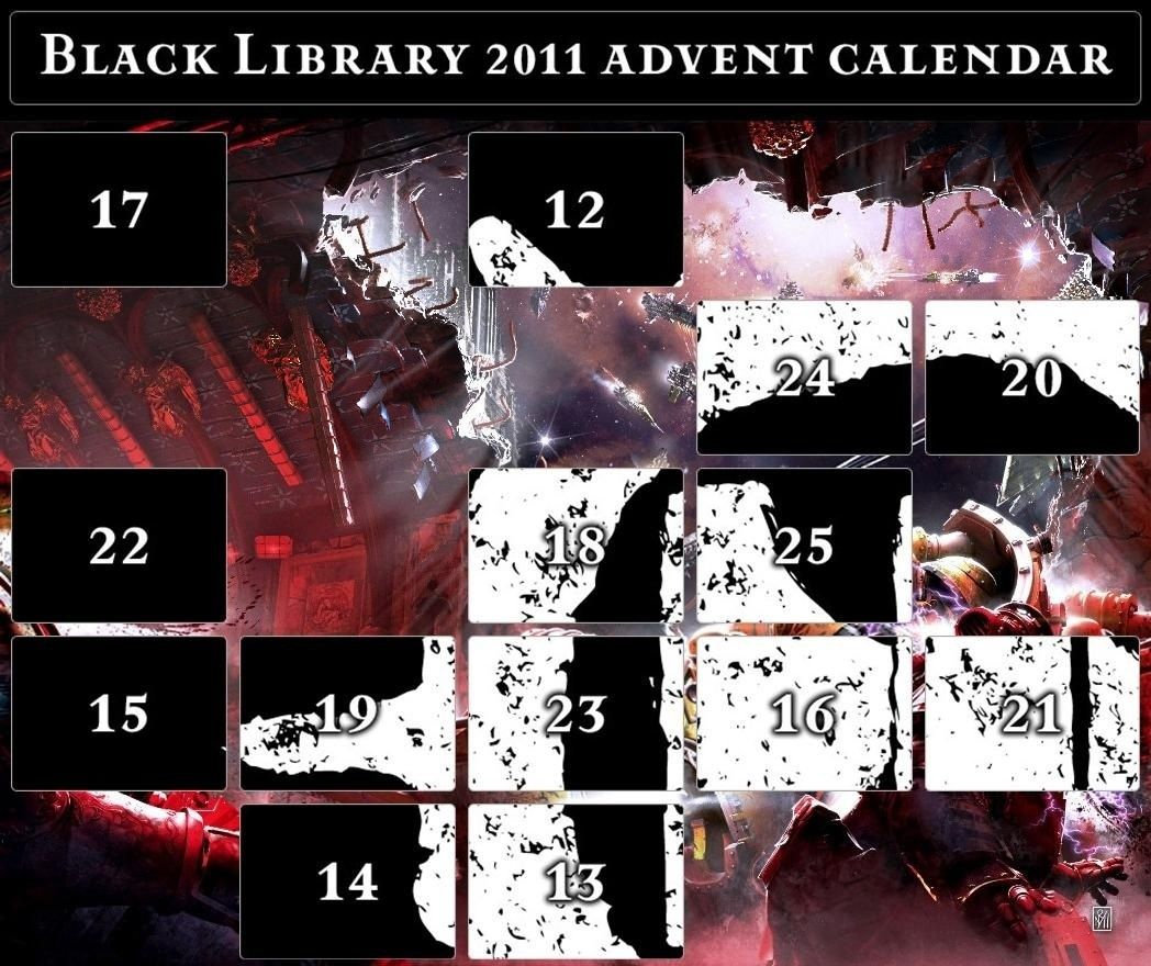 Black Library Advent Calendar 2011 - Page 5 Calend16