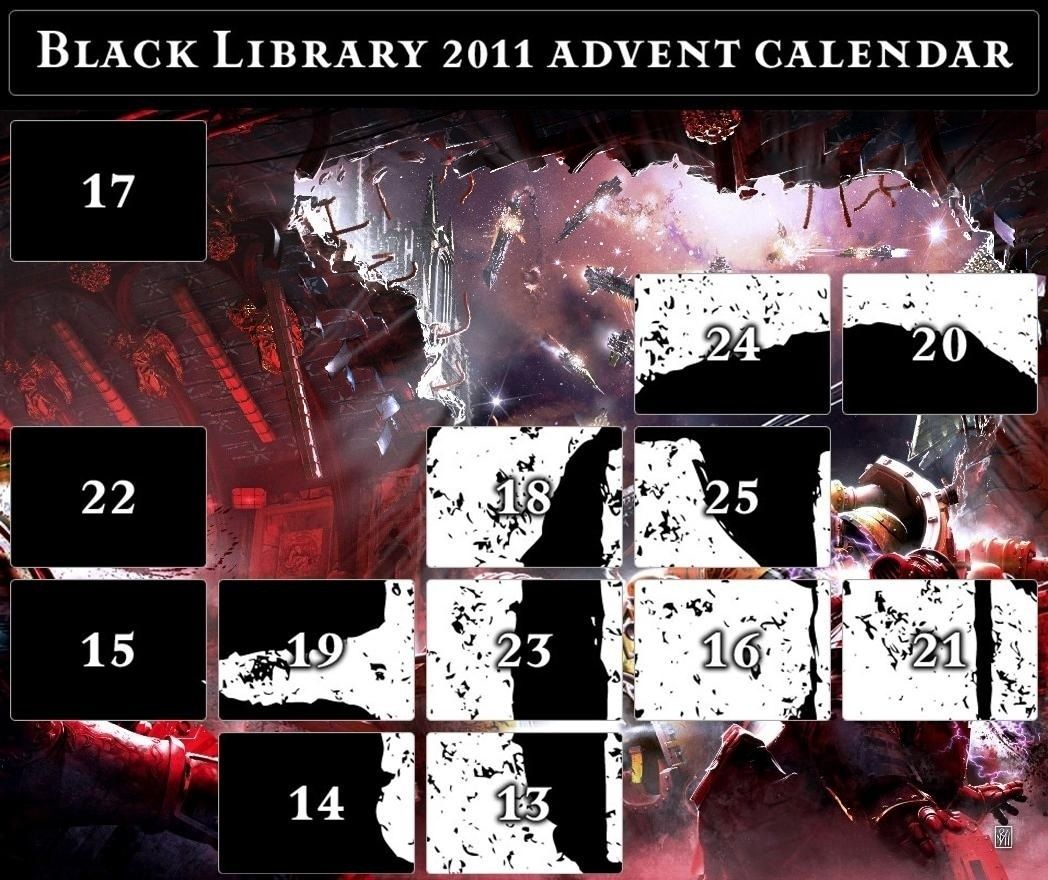 Black Library Advent Calendar 2011 - Page 6 Calend17