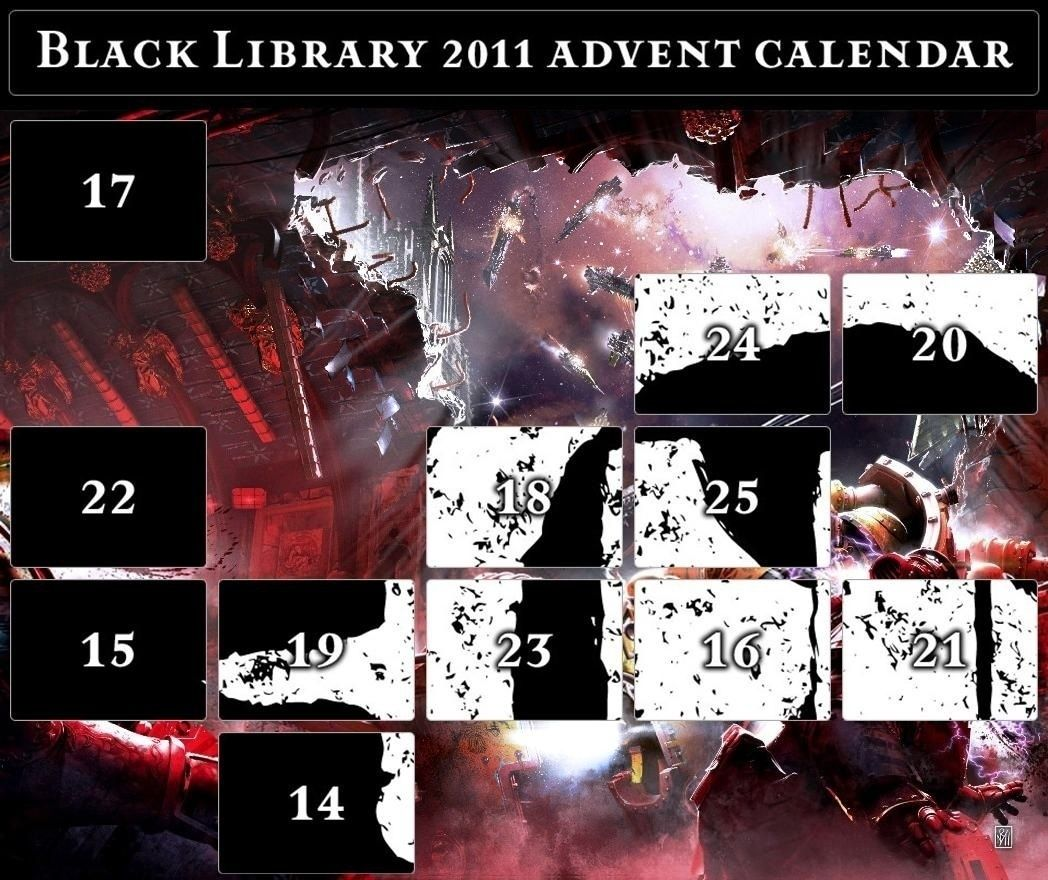 Black Library Advent Calendar 2011 - Page 6 Calend18