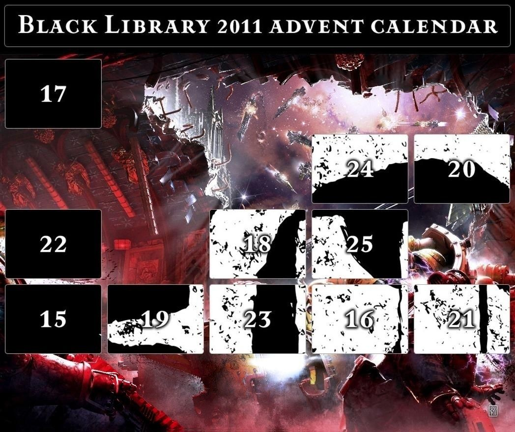 Black Library Advent Calendar 2011 - Page 6 Calend19
