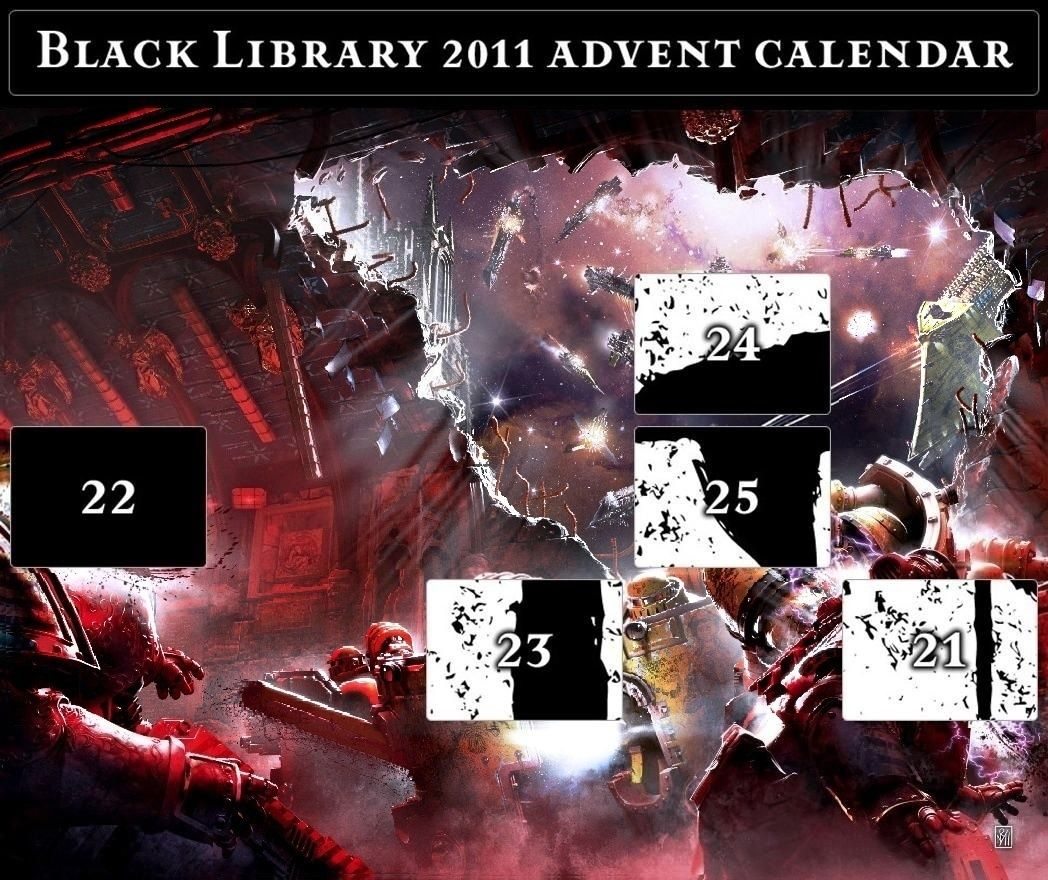 Black Library Advent Calendar 2011 - Page 8 Calend25