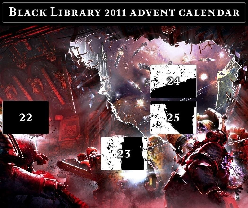 Black Library Advent Calendar 2011 - Page 8 Calend26