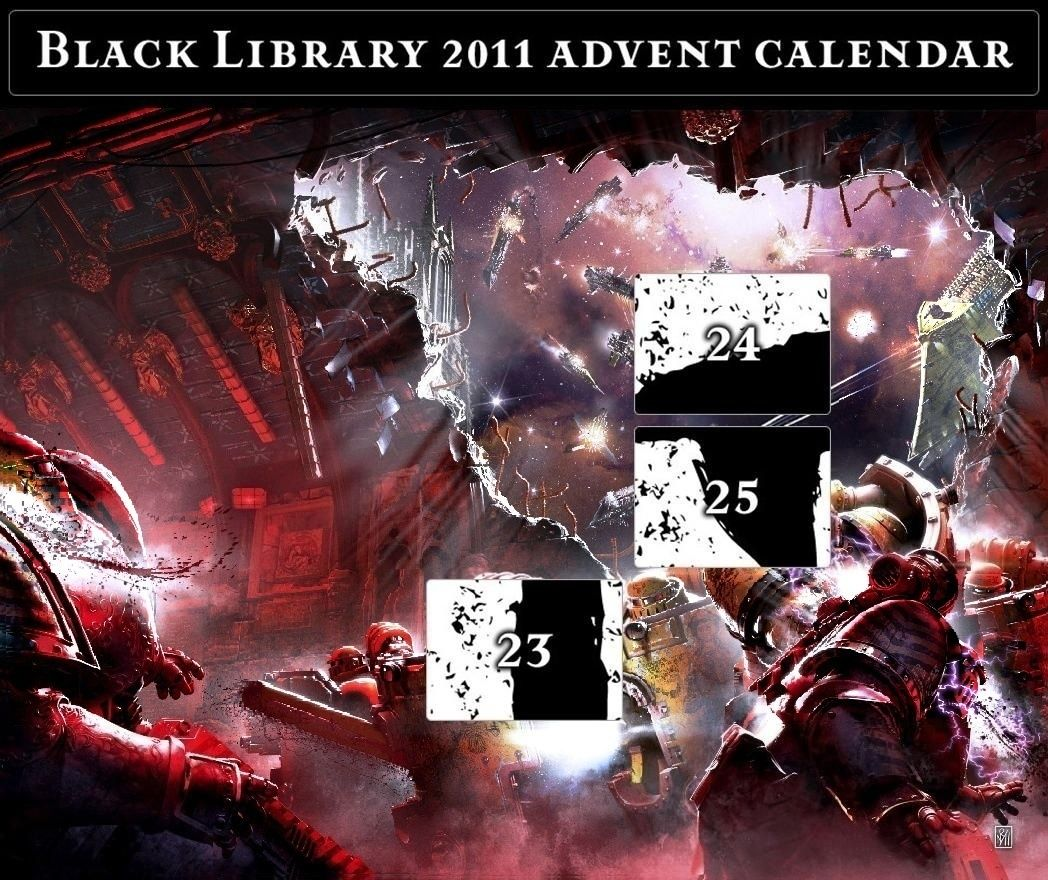 Black Library Advent Calendar 2011 - Page 9 Calend27