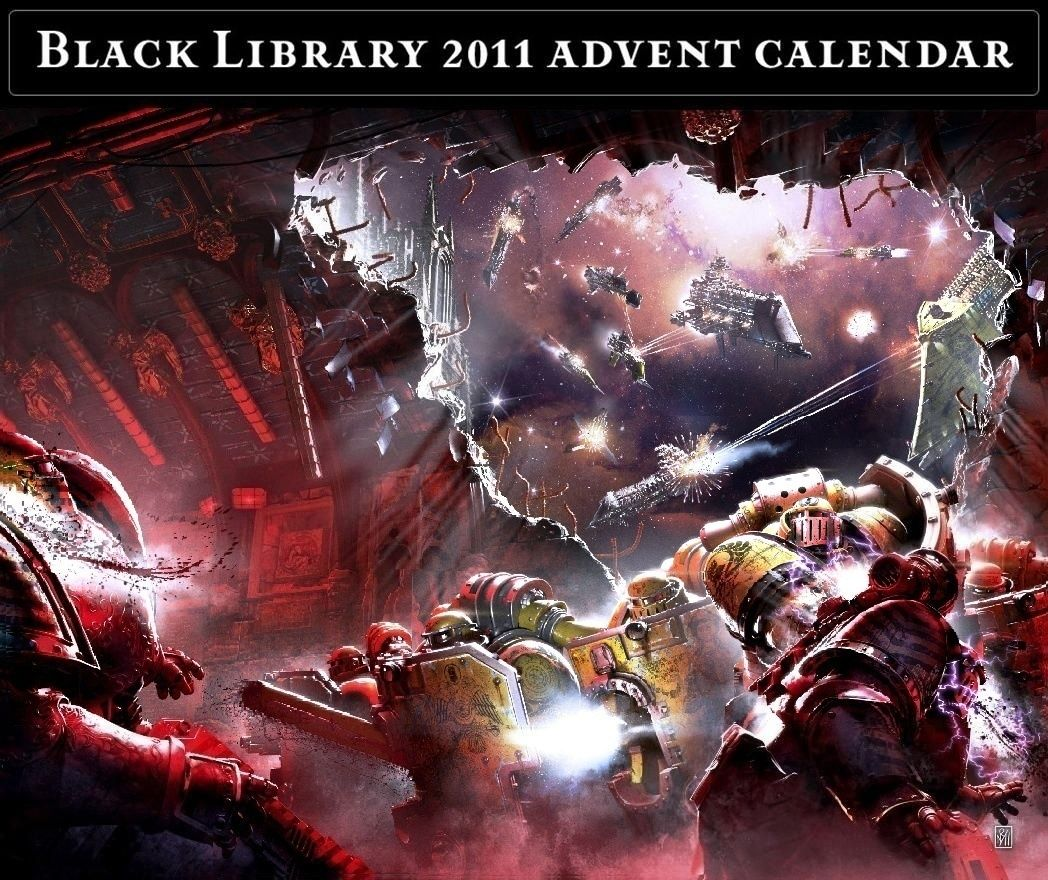 Black Library Advent Calendar 2011 - Page 10 Calend35