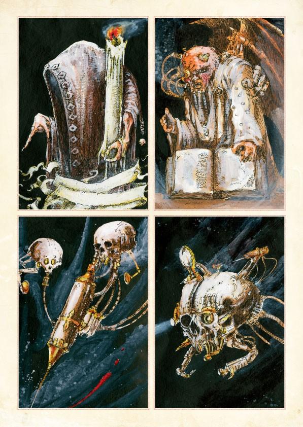 Les Artbooks sortis chez BLack Library La_vol13