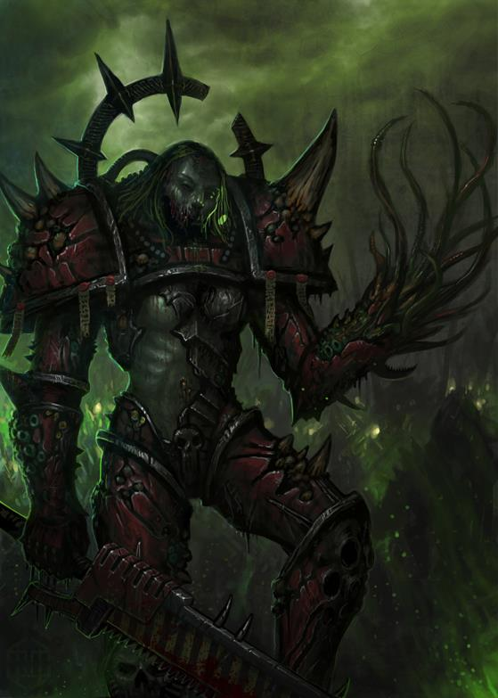 [W40K] Collection d'images : Space Marines du Chaos - Page 2 Nurgle11