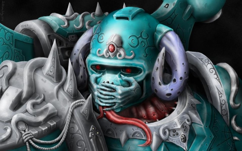 [W40K] Collection d'images : Space Marines du Chaos - Page 2 Slaane12