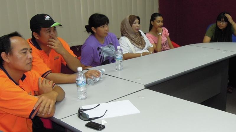 Sesi Seminar Kesihatan di Pesta Sukan Tahunan KSH JPS Sabah 1036