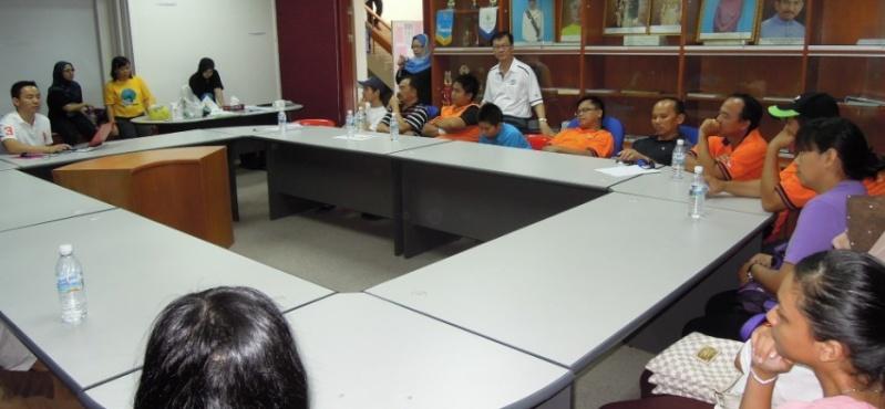Sesi Seminar Kesihatan di Pesta Sukan Tahunan KSH JPS Sabah 1137