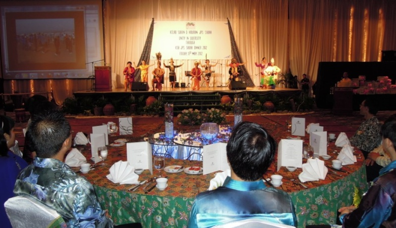 Unity In Diversity Through KSH JPS Sabah Dinner 2012 1228