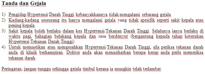 Kaunter Pemeriksaan Tekanan Darah Kakitangan JPS Sabah 1513