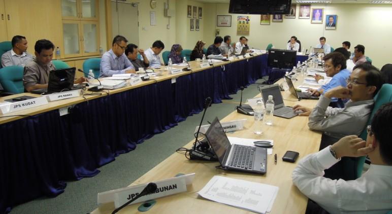 Mesyuarat Jawatankuasa Keselamatan dan Kesihatan Pekerjaan (JKKP) Bil 2/2012, JPS Sabah 156